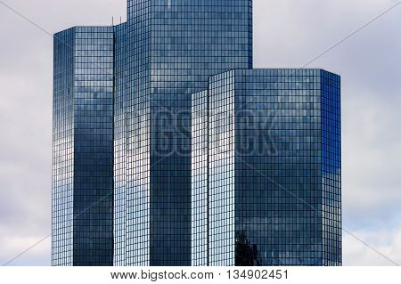 La Defense Europe Business Center In Paris, France.
