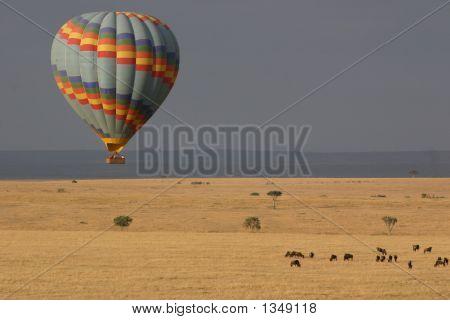 Vuelo en globo el Masai Mara
