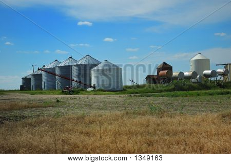 Grain Farm Outbuildings Agricultural
