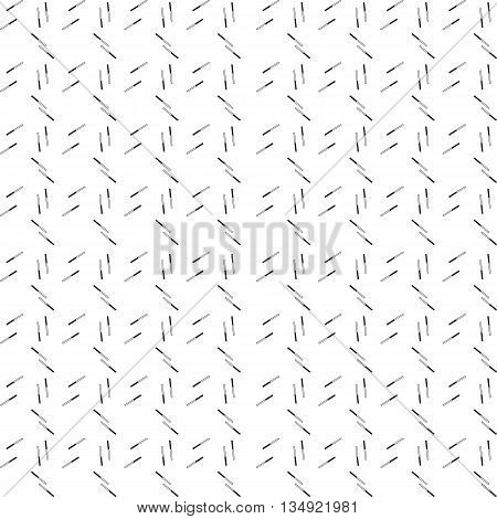 Chaotic Strokes Seamless Pattern
