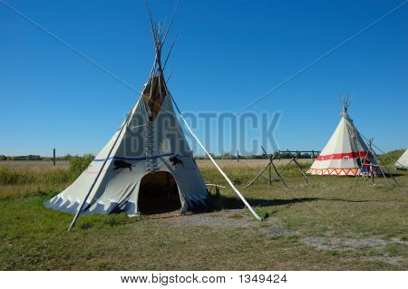 Two Tepees