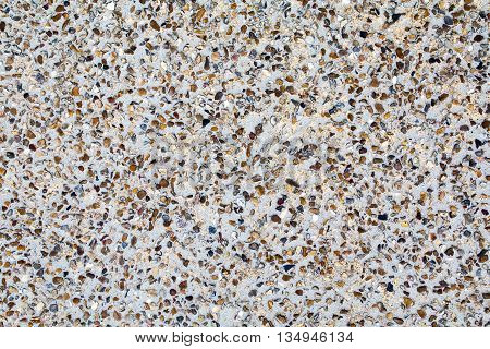 Pebble dash exterior wall grey textured background