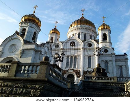 Historical Christ the Savior Cathedral, Moscow, Russia