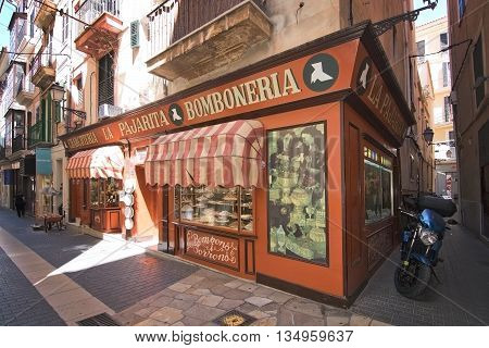 Bomboneria In Palma Old Town