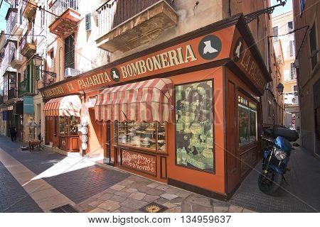 Bomboneria In Palma Old Town