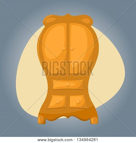 Cupboard icon Cupboard icon eps 10 Cupboard icon vector Cupboard icon jpg. Vector illustration