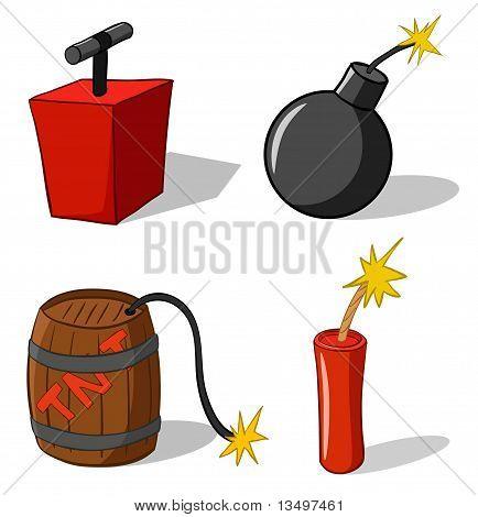 Bomb With Detonator