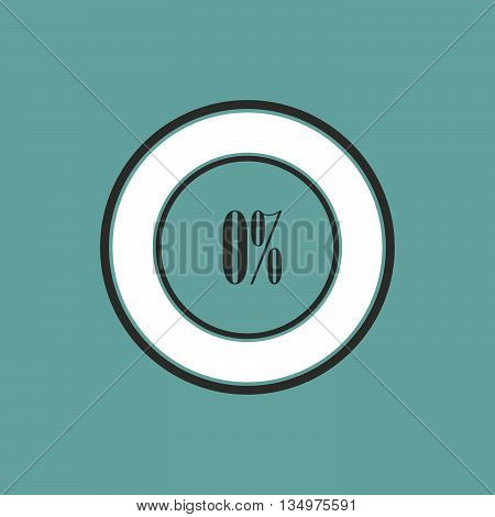 Round element of infographics in pie charts. Vector illustration