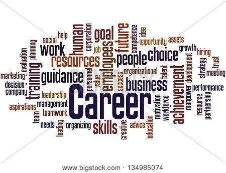 Career, Word Cloud Concept 5