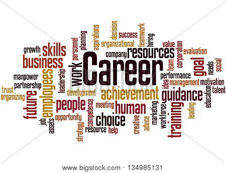 Career, Word Cloud Concept 6