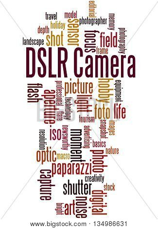 Dslr Camera, Word Cloud Concept 9