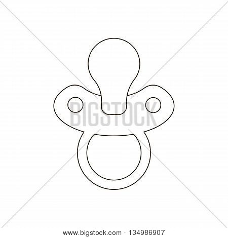 Nipple path vector on a white background. Vector illustration
