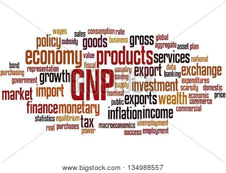 Gnp - Gross National Product, Word Cloud Concept 8