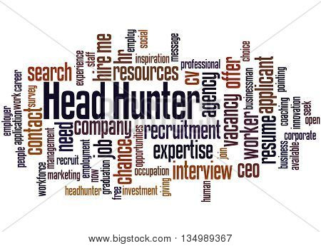 Head Hunter, Word Cloud Concept