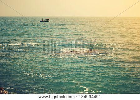 The Sea And The Coastline, Budva, Montenegro.