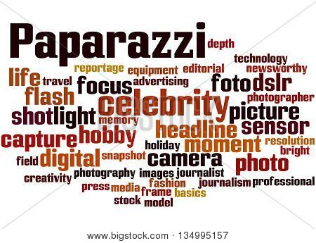 Paparazzi, Word Cloud Concept