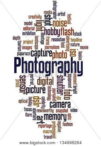 Photography, Word Cloud Concept 3