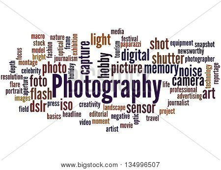 Photography, Word Cloud Concept 7