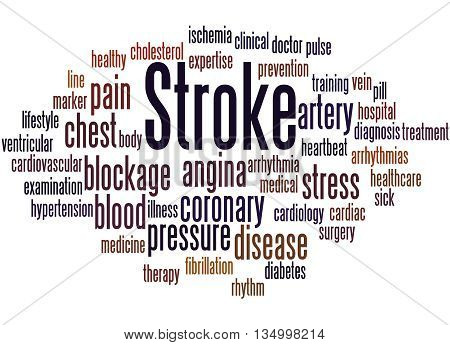 Stroke, Word Cloud Concept 4