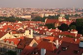 picture of red roof tile  - Prag - JPG