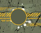 Army / navy / grunge background - for different text use my another illustration called Grunge Alpha