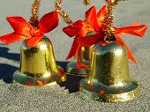 Christmas Bells On The Beach poster