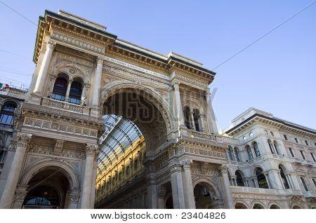 Vittorio Emanuele Gallery Of Milan