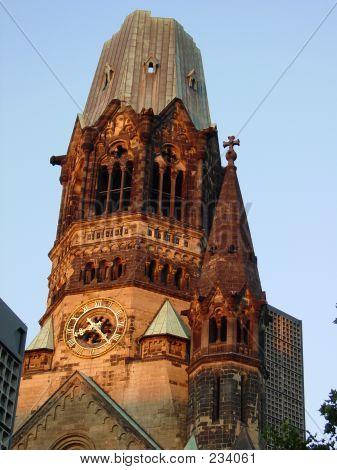 Burned Clock Tower