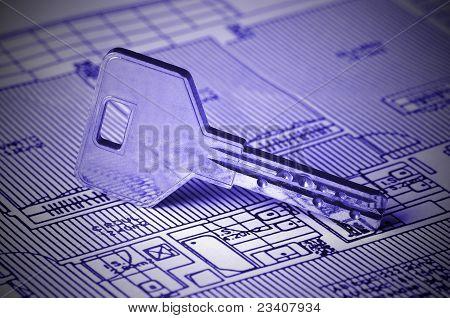 Chave no Blueprint