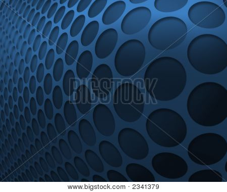 Blue Circle Background