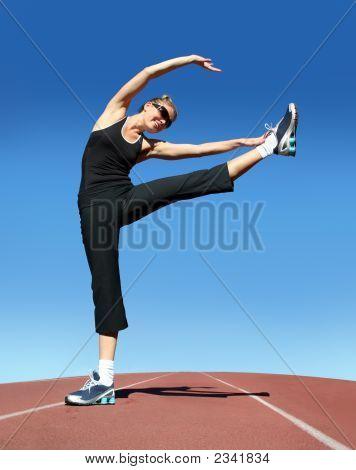Fitnesstraining Frau
