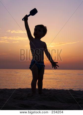 2672 Sand Bucket Silhouette