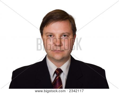 Businessman In Black Suit