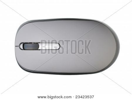 Wireless mouse above