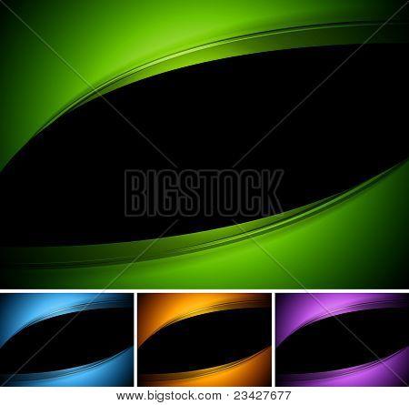 Dark Wavy Design