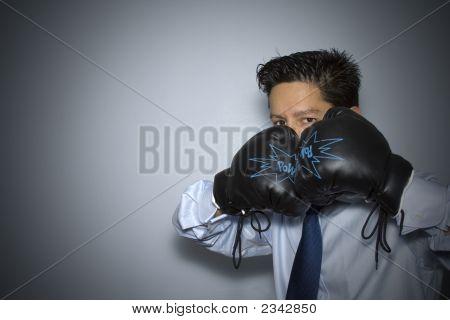 Boxen im Geschäft