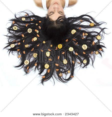 Floral Hair