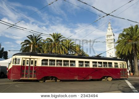 Trolley Or Tram In San Francisco