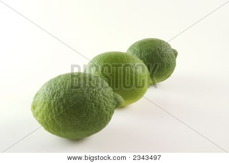 Three Green Limes