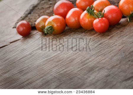 Cherry Tomatoes Background