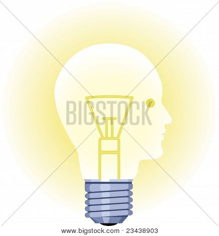 Lightbulb Man