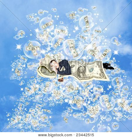 Financial dreams about money