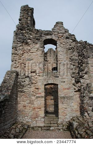 Building at Kildrummy Castle