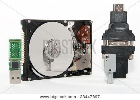 HDD, unidad Usb, clave, converter