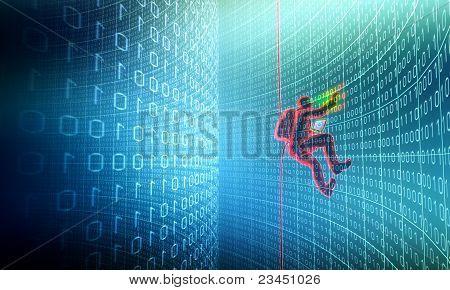 Hacker in Aktion