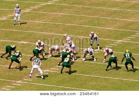 Florida State Vs University Of South Florida Football Game