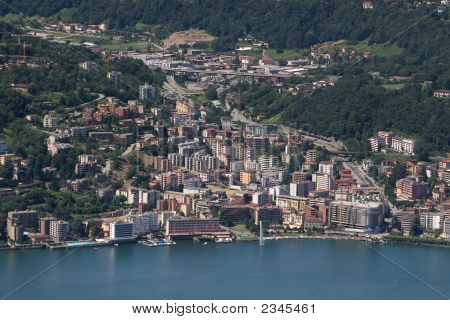 City Of Lugano, Switzerland