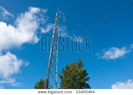 Telecommunication Communication Antenna Tower Mast