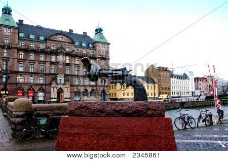 Non Violence Malmo In Sweden