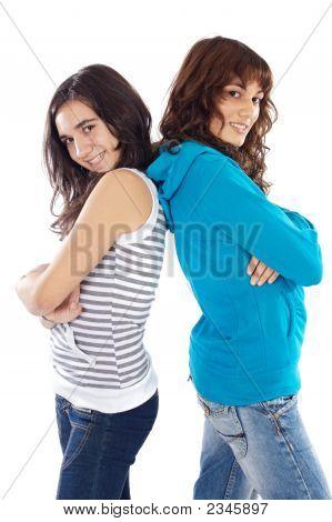 Girls Back To Back